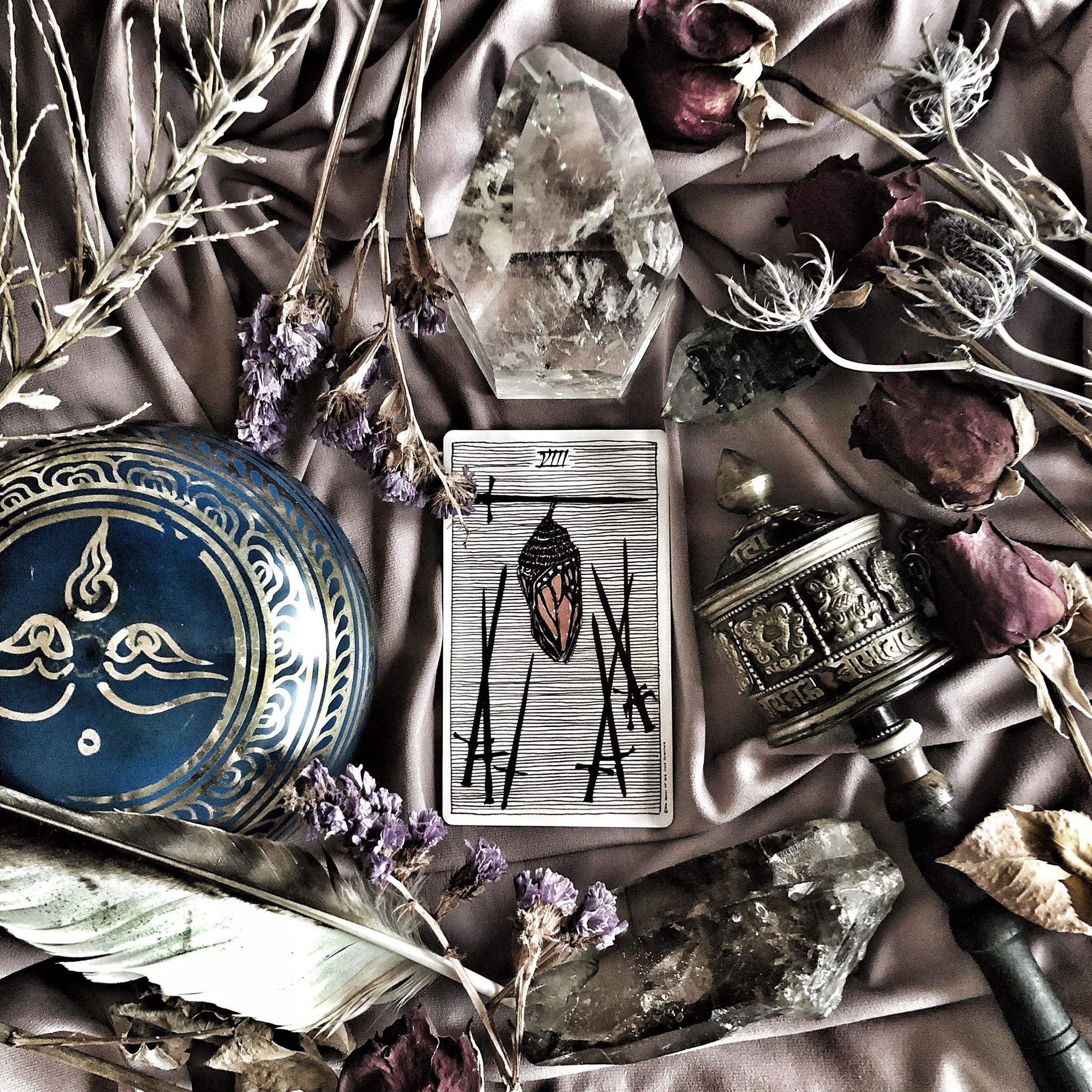 Eight of Swords, The Wild Unknown Tarot