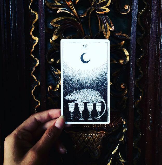 Four of Cups The Wild Unknown Tarot