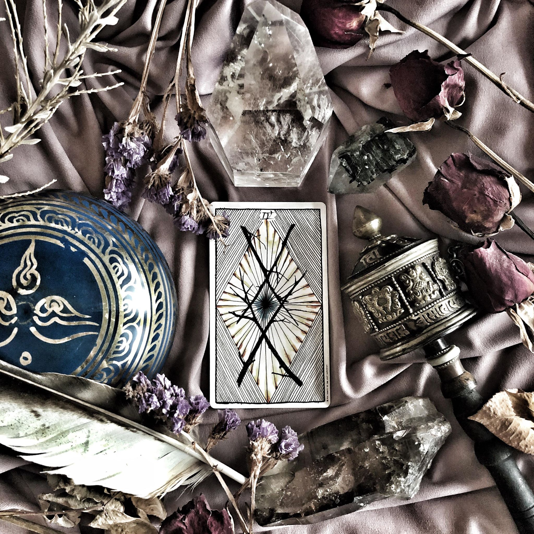 Four of Wands, The Wild Unknown Tarot