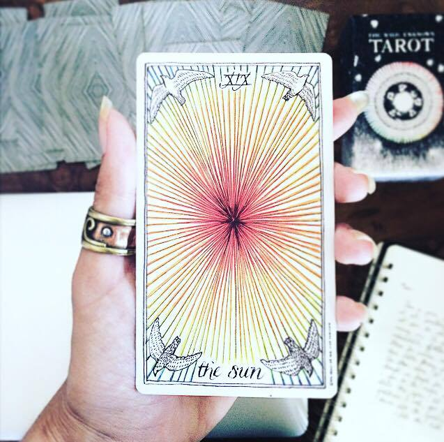 The Sun The Wild Unknown Tarot