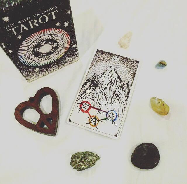 Three of Pentacles The Wild Unknown Tarot