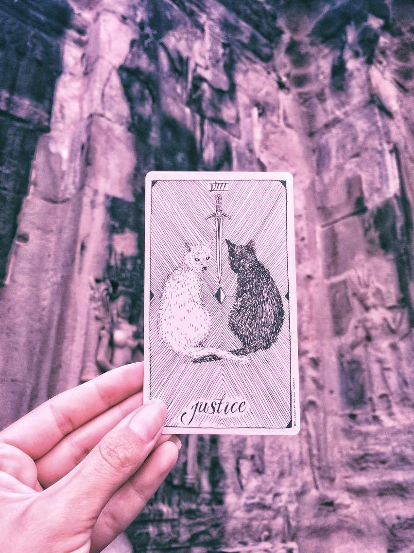 Justice The Wild Unknown Tarot