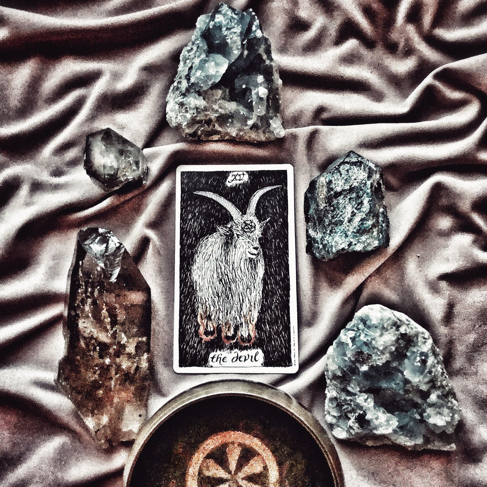 The Devil, The Wild Unknown Tarot