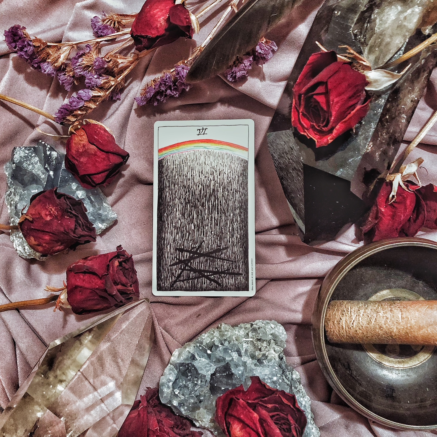 Six of Swords, The Wild Unknown Tarot