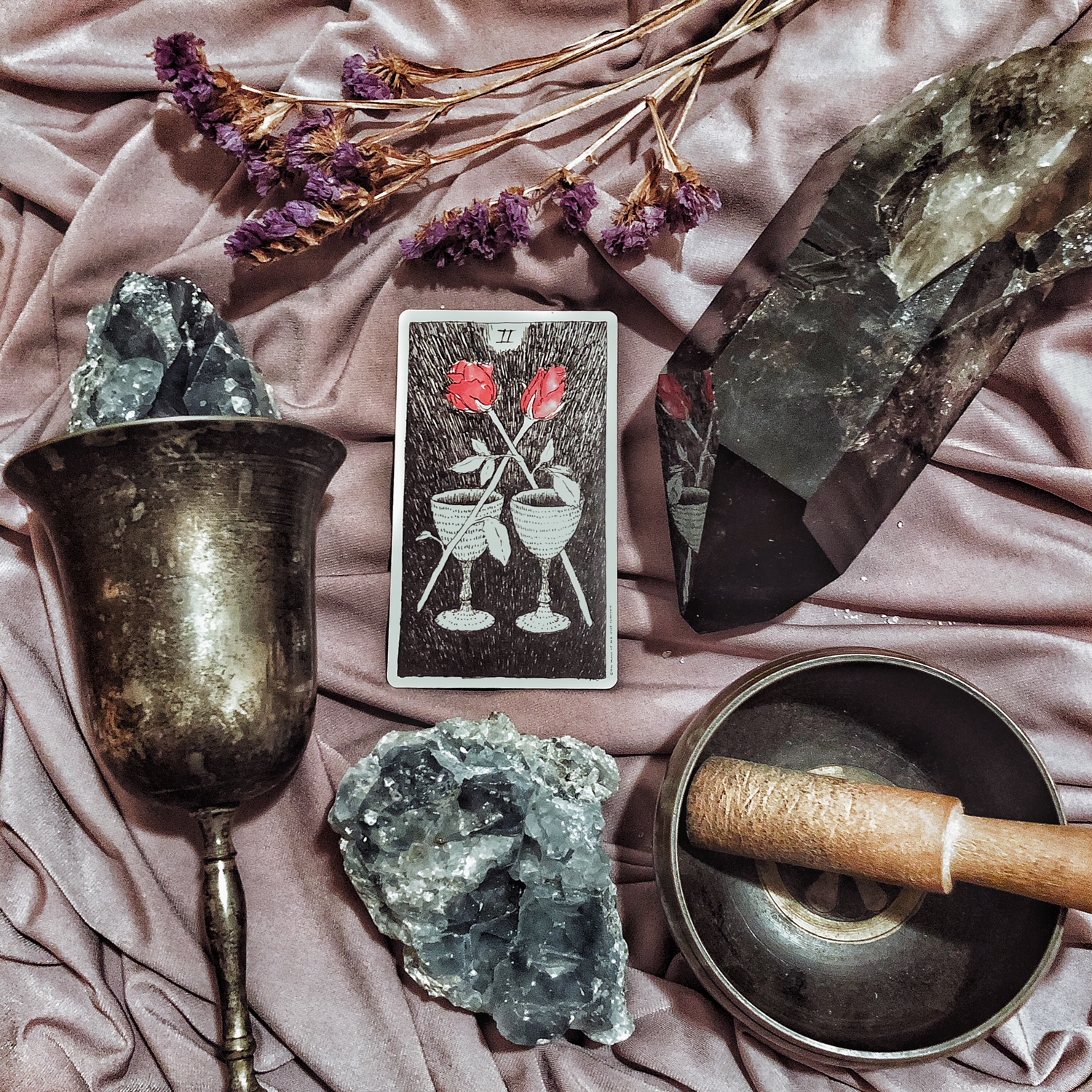 Two of Cups, The Wild Unknown Tarot